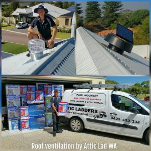 Roof ventilation perth -Attic lad WA
