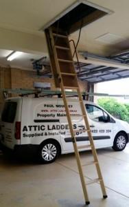 Attic ladder -Iluka