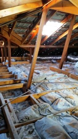 install attic door