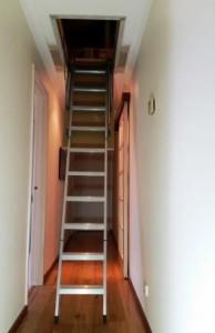 aluminium attic ladder