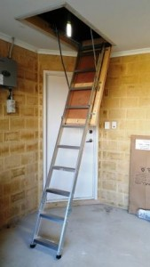 Attic Access Ladder