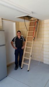 Wooden Attic Ladders Perth