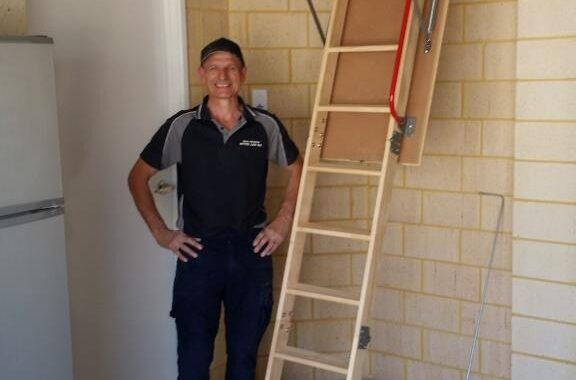 Wooden Attic Ladders Perth