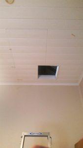 built in attic storage