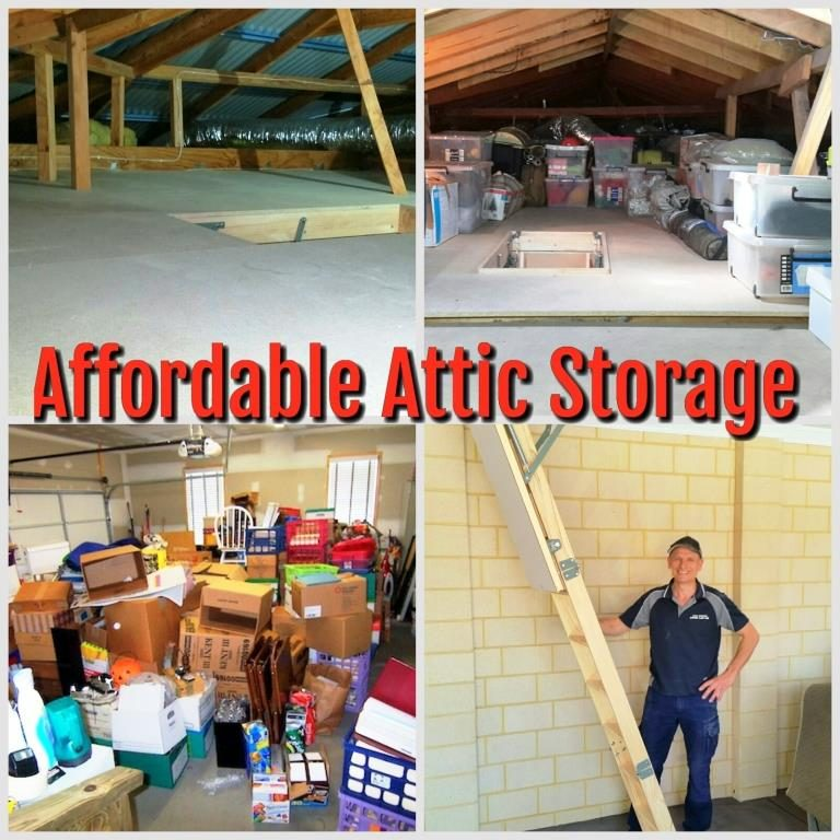 attic storage ides