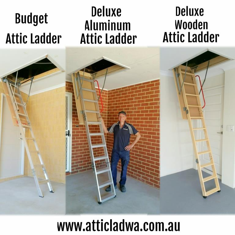 Attic Ladders Perth Fully Installed From 695 Attic Lad Wa