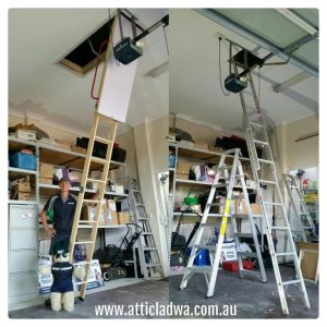 Attic / Loft Ladders for High Ceilings Perth