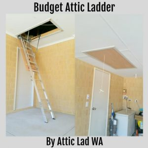 budjet attic ladder