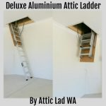 Deluxe Aluminium Attic Ladder