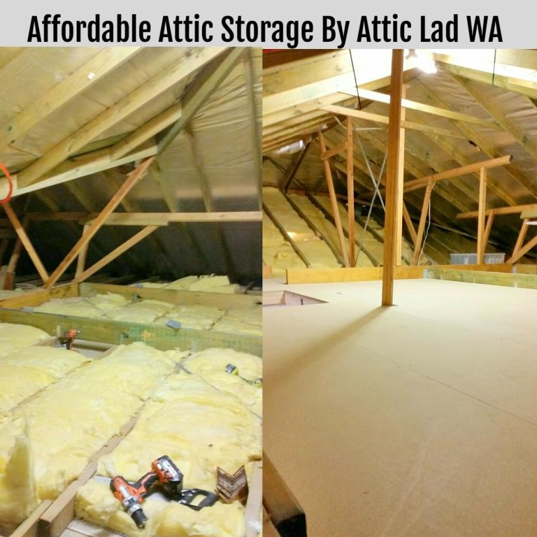 Attic storage conversion