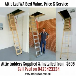 attic installations perth