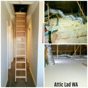 attic storage platform