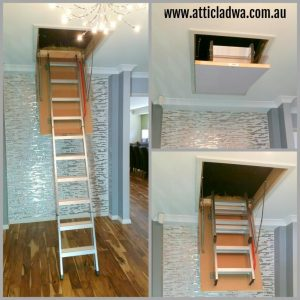 Loft ladders stairs Perth