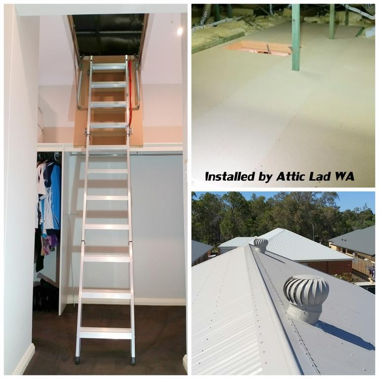 Roof Storage Perth By Attic Lad Wa Attic Storage Perth