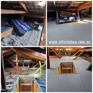 Perth attic storage