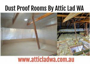 dust proof attic storage room