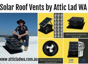 Solar Attic Fan Perth