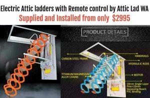Electric attic ladders Perth