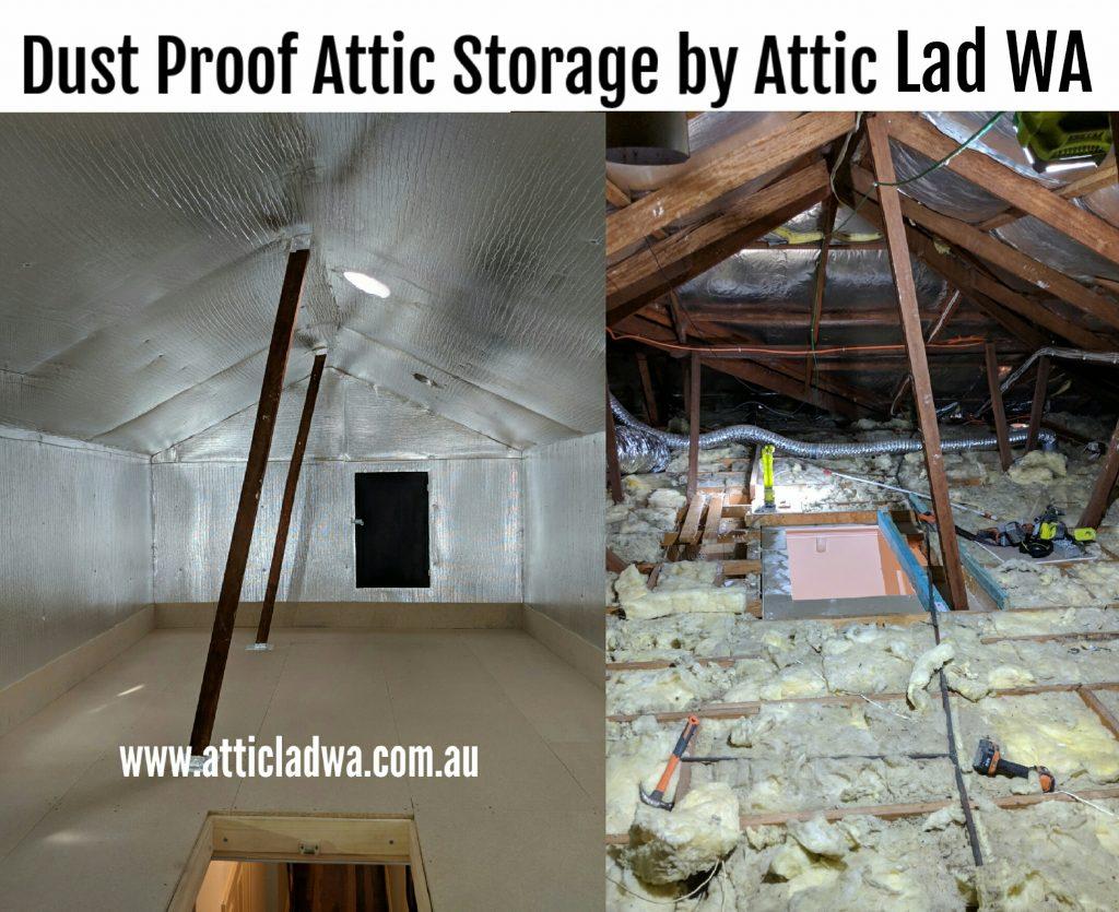 Dust Proof Attic Room
