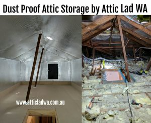 attic storage room