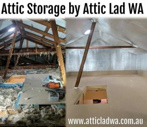 Attic storage conversion