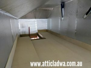 dust proof attic storage