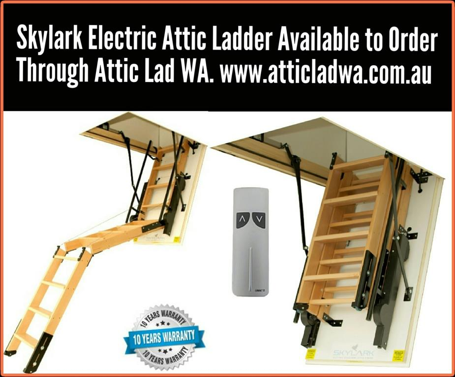 skylark electric attic ladder Perth Australia