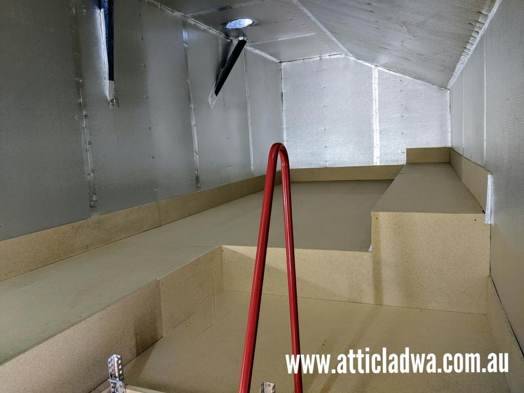 Dust Proof Attic Storage Rooms